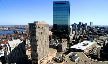 [Boston] Skyline From Westin