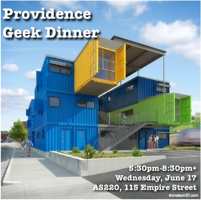 Providence Geeks June Dinner