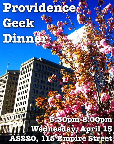 April '15 Geek Dinner